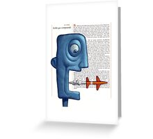 Afterwords Greeting Card