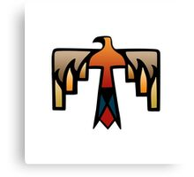 Thunderbird - Native American Indian Symbol Canvas Print