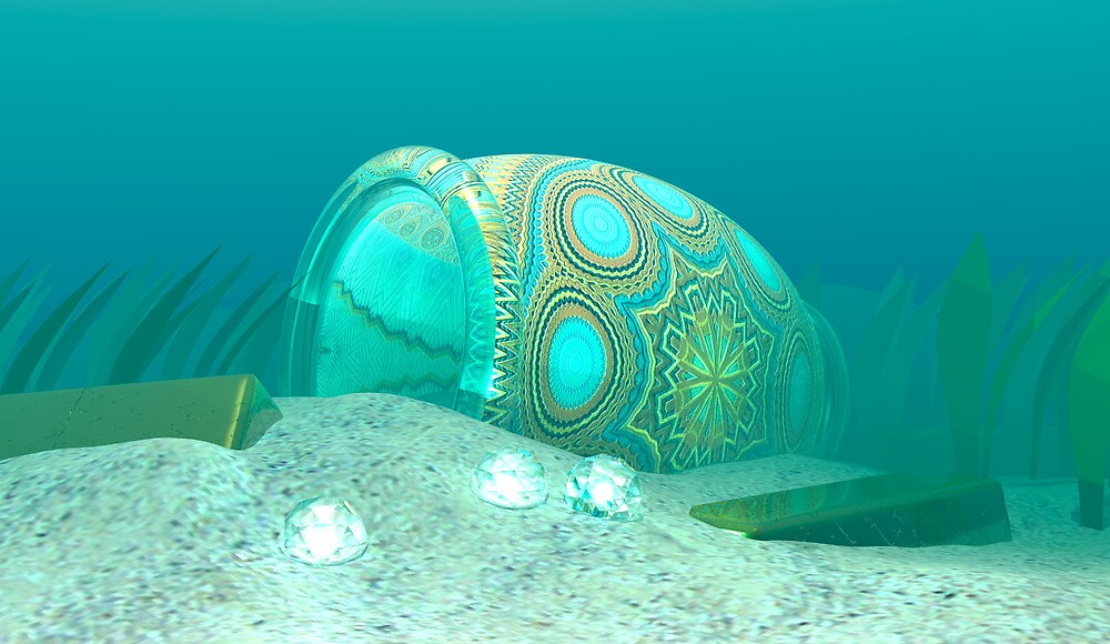 More Underwater Treasure by Hugh Fathers