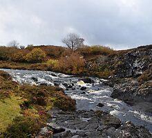 Treaslane River, Isle of Skye by Rupert Connor
