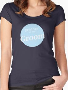 Brother of the Groom Women's Fitted Scoop T-Shirt