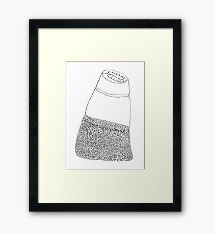 pepper shaker Framed Print