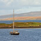 Boat on Loch Dunvegan by Rupert Connor