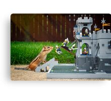 Storming The Castle Canvas Print