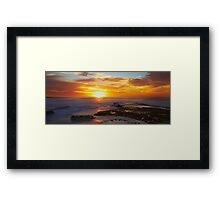 Sunrise- Maroubra Beach Framed Print