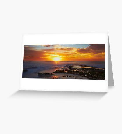 Sunrise- Maroubra Beach Greeting Card