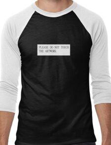 PLEASE DO NOT TOUCH THE ARTWORK Men's Baseball ¾ T-Shirt