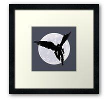 Moon Devil Jin Framed Print