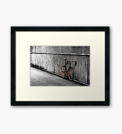 Urban Bike Framed Print
