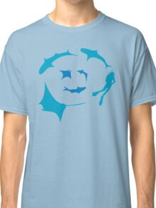 'Circling' - T-shirt for dive gods :) Classic T-Shirt