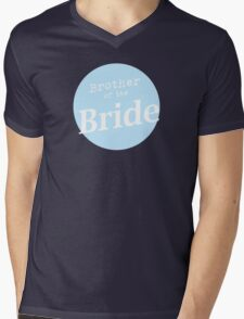 Brother of the Bride Mens V-Neck T-Shirt