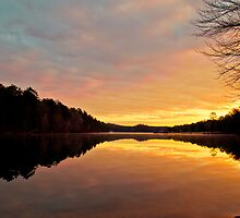 Oak Mountain Sunrise by Phillip M. Burrow