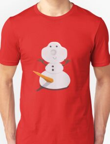 Funny Snowman Unisex T-Shirt