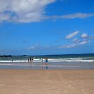 A day at the beach Yamba NSW by Margaret Morgan (Watkins)