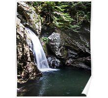 Bingham Falls Stowe, VT Poster