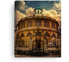 Oxford Building Canvas Print