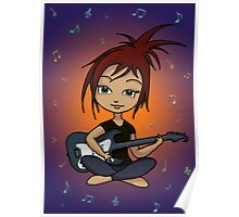 Guitar Chick Poster