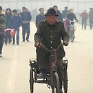 Ping Yao - Main street by Jean-Luc Rollier