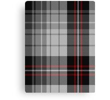 00519 Black & White Tartan  Canvas Print
