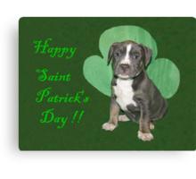 Happy Saint Patty's Day! Canvas Print