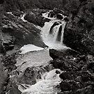 Scottish Waterfall by Sam Davis