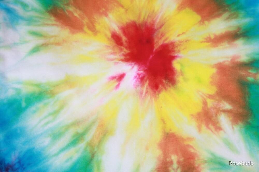 Rainbow Bullseye by Rosebuds