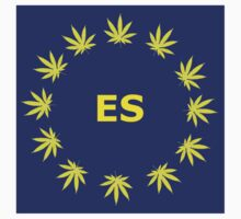Spanish Marijuana Flag by SimonKlak