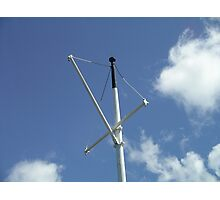 Steamship Mast, TSS Earnslaw, Queenstown New Zealand Photographic Print