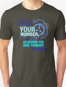 What's your (item) number Unisex T-Shirt