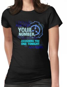 What's your (item) number Womens Fitted T-Shirt