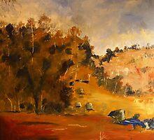 Sutton Grange Vic Australia by Margaret Morgan (Watkins)