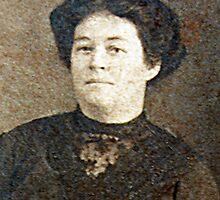 Ellen (McRae) Wilson - born 1884 by Bev Pascoe