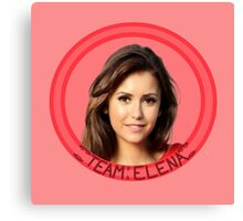Team Elena - The Vampire Diaries - (Designs4You) - TVD Canvas Print