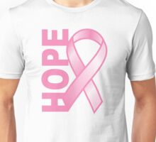 Hope Cancer Ribbon Unisex T-Shirt