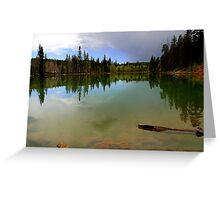 Crystal Mirror Lake Greeting Card