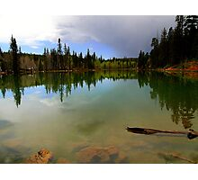 Crystal Mirror Lake Photographic Print