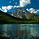 Leigh Lake, Teton National Forest, Wyoming by ayresphoto