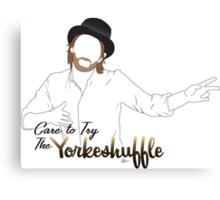 The Yorkeshuffle Canvas Print