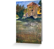 Country House in Provence Greeting Card