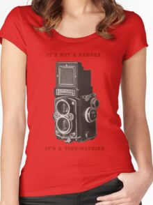 Rolleiflex Time-Machine Women's Fitted Scoop T-Shirt