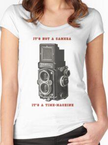 Rolleiflex Time-Machine Women's Fitted Scoop T-Shirt