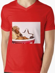 Christmas Biscuits Mens V-Neck T-Shirt
