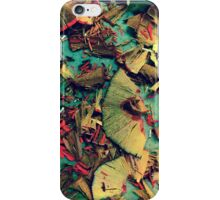 Colored Pencil Shavings Photo iPhone Case/Skin