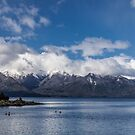 Lake Nahuel Huapi, Patagonia, Argentina by Mathieu Longvert