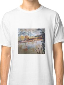On the banks of the Goulburn River at Seymour VIC Australia Classic T-Shirt