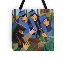 NED TAKEN BY THE TRAPS 1880 Tote Bag