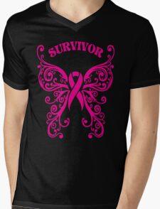 Survivor Mens V-Neck T-Shirt