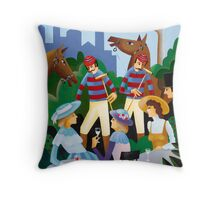 THE CUFF AND COLLAR TEAM Throw Pillow