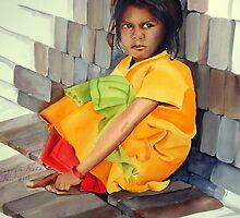 In The Lap Of Bricks by shagufta