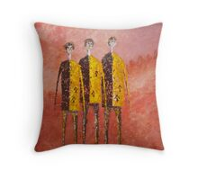 THE CONVICTS Throw Pillow